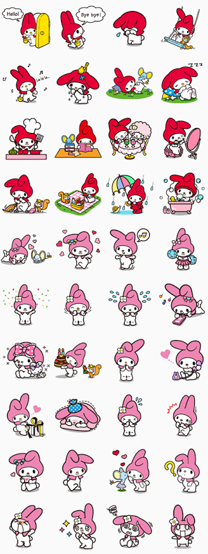 StickerLine615-MyMelody