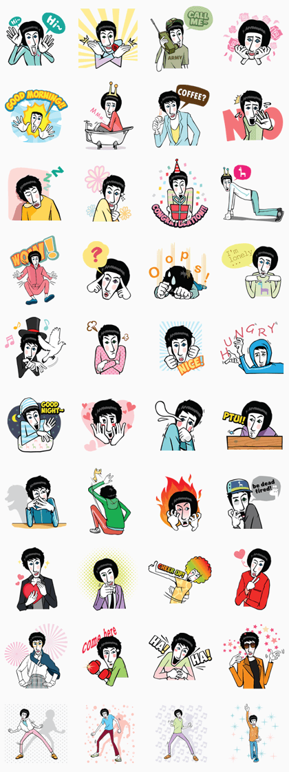StickerLine929-ActorLeeKwangSooSpecial Edition