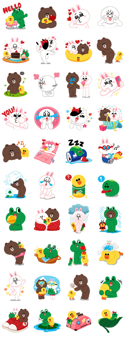 Sticker2281 - LINE Characters: Cuter Is Better